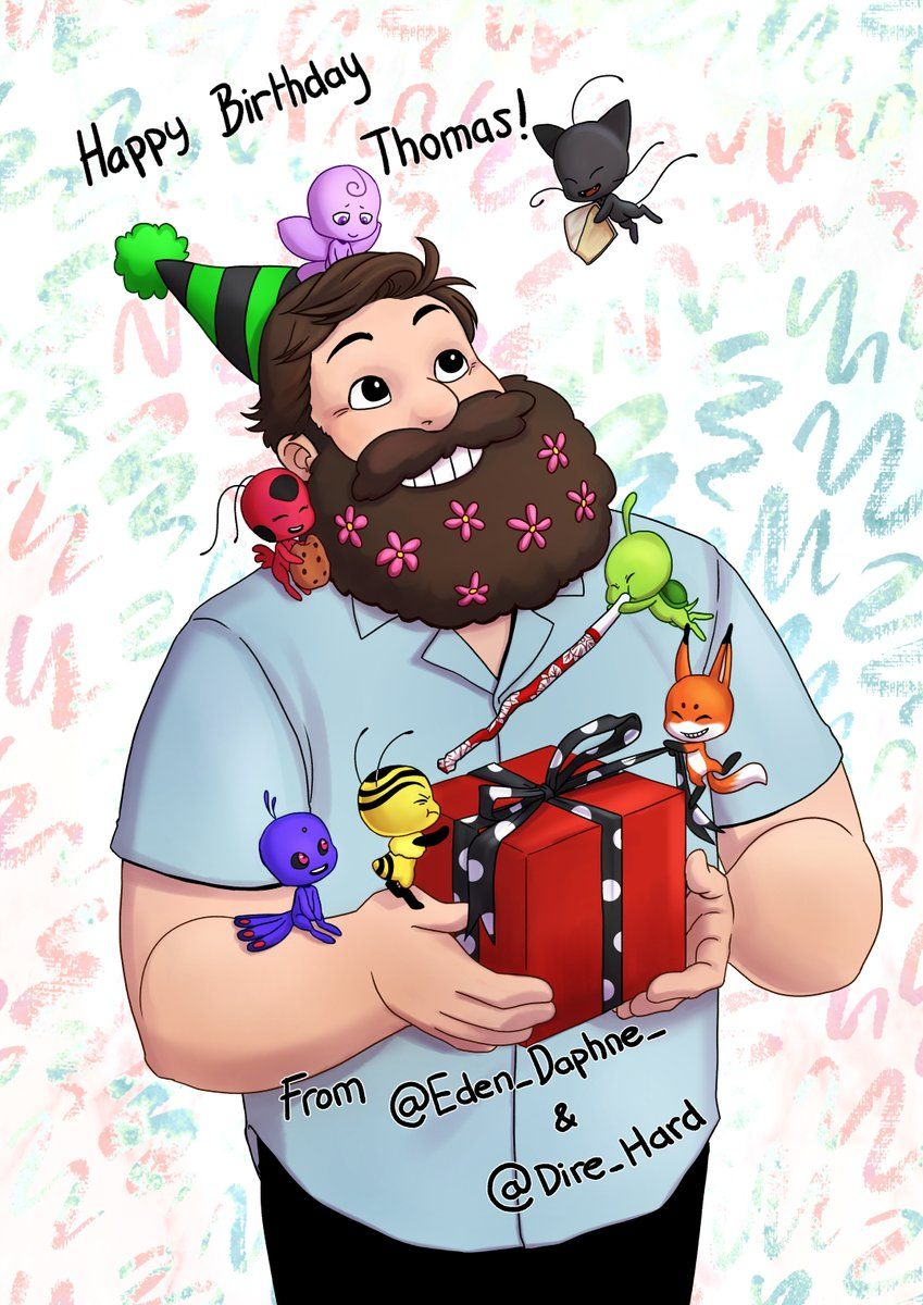 thomas astruc thomas receive a gift from miraculous fandom ohhh