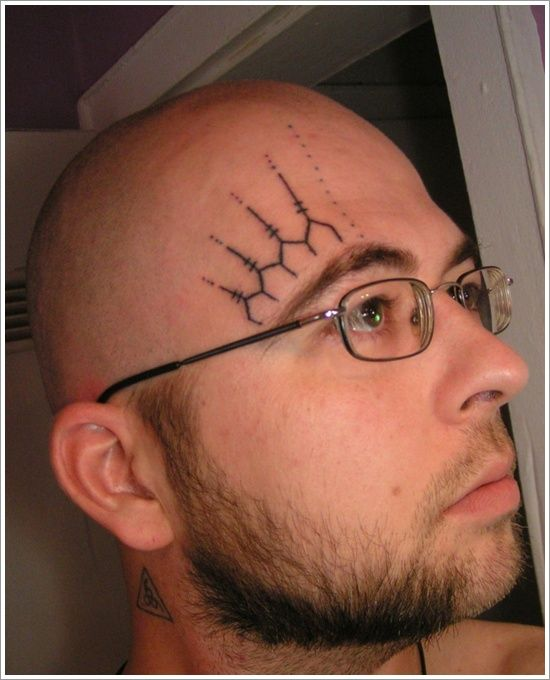 Amazing Face Tattoo Designs: Small Face Tattoo Designs For