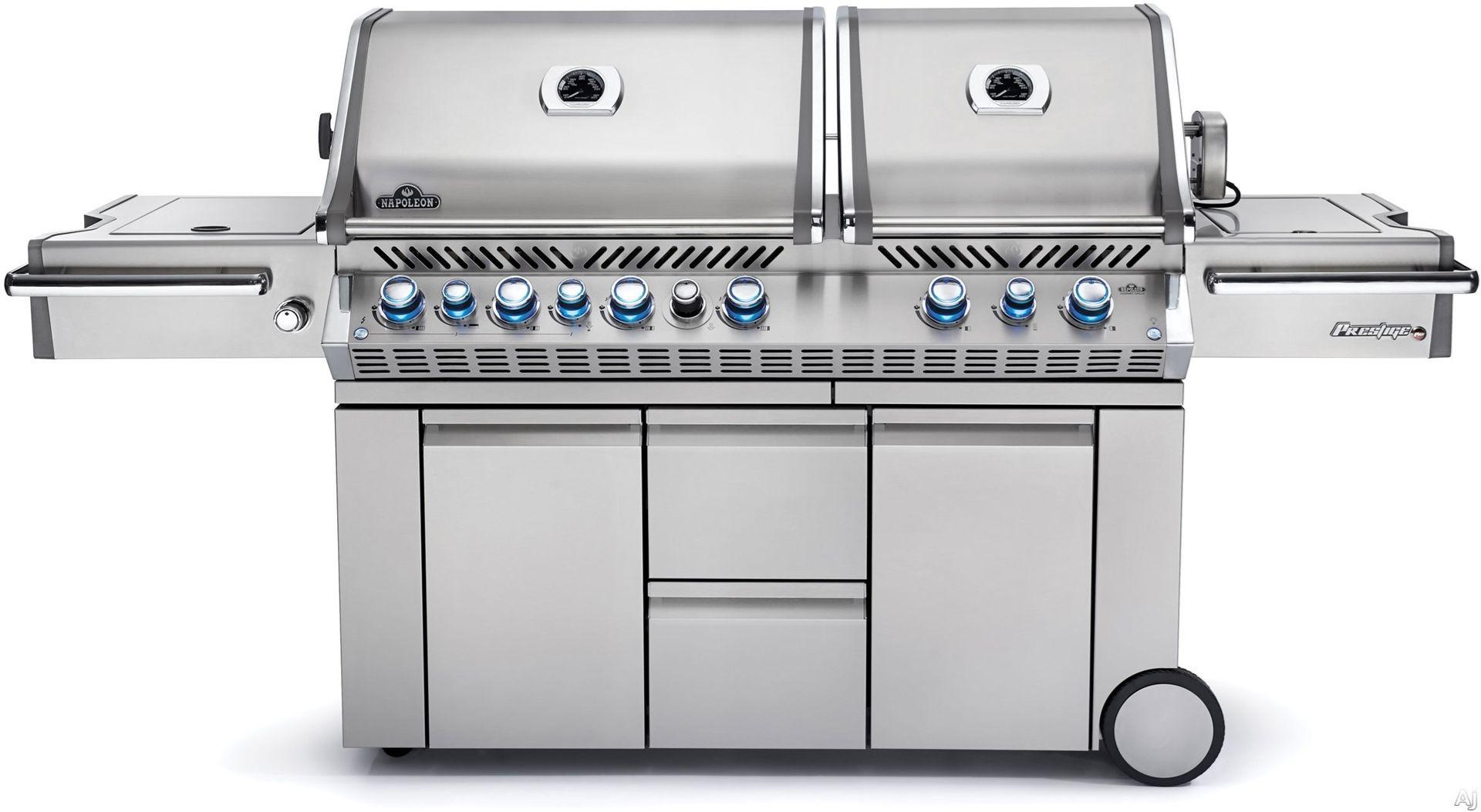Napoleon Prestige Pro 825 Gas Grill Review Natural Gas Grill Gas Grill Best Charcoal Grill