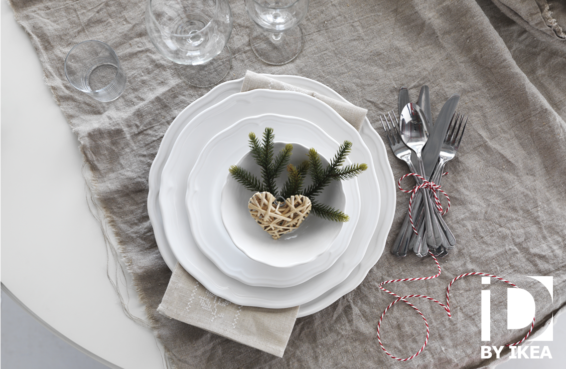 Service 18 Pièces Arv Blanc A Table Ikea Christmas