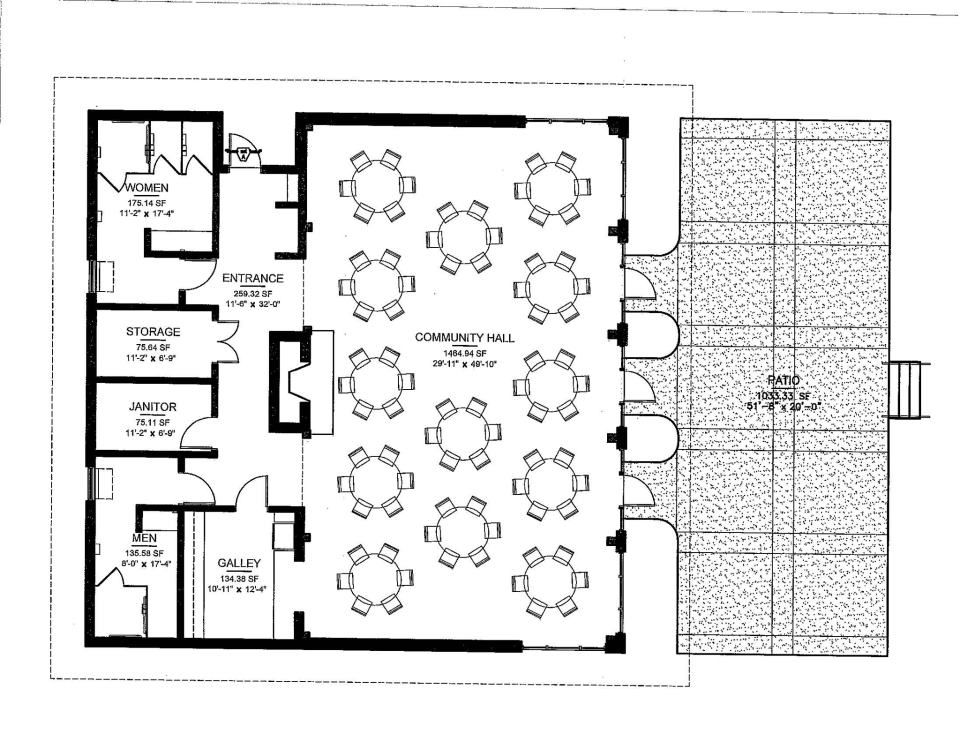 Mcfalls landing floor plan cajun party pinterest for Wedding floor plan