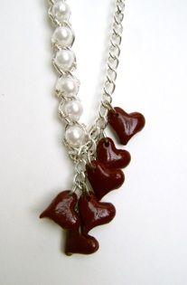 plum-hearts-lariat-necklace