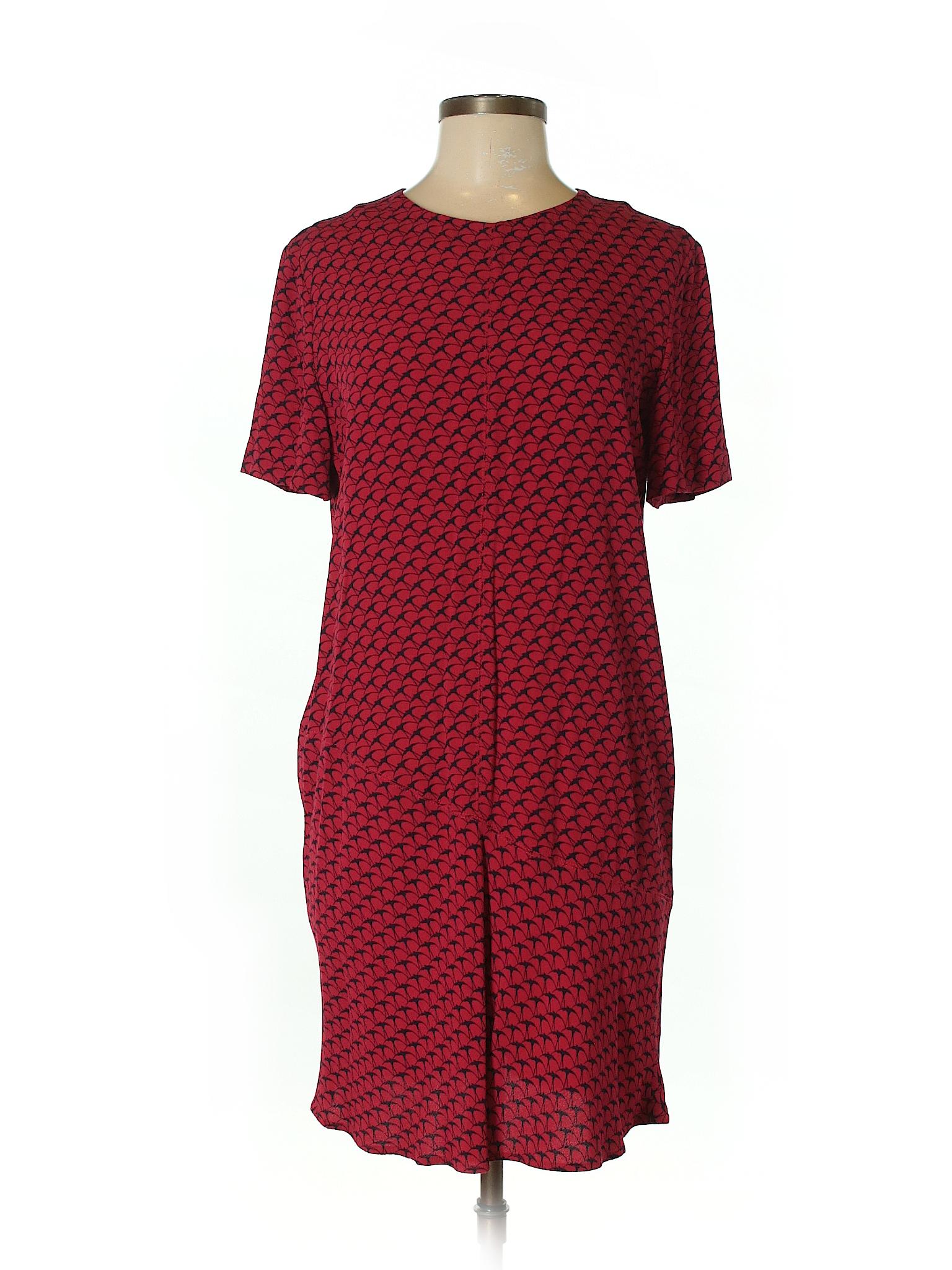 Vanessa Bruno Athe Casual Dress: Red Women's Dresses - 32624083