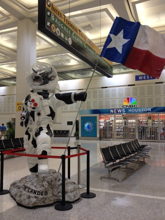 George Bush Intercontinental Airport Iah In Houston Tx