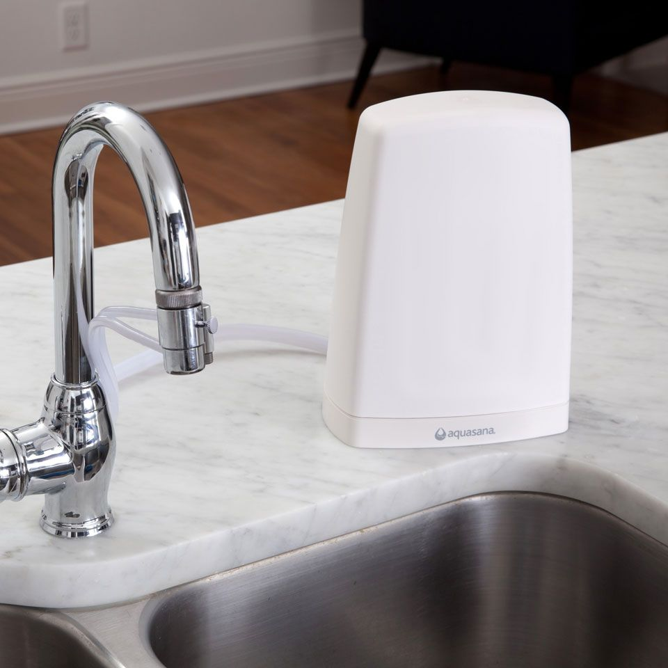 Countertop Water Filter White Aq 4000 Aquasana Countertop