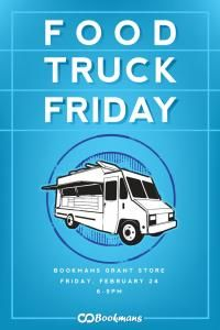 Food Truck Friday Event Flyer Poster Food Truck Advertising