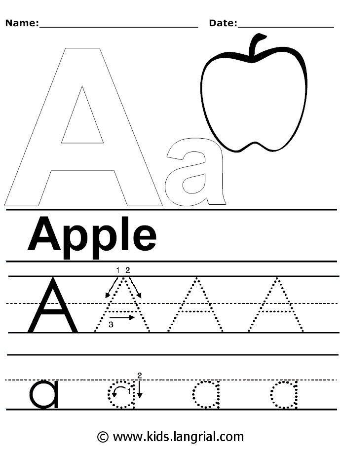 Cool Kids Alphabet Worksheets Free For Worksheet Ideas Ideas ...