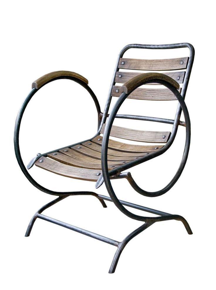 Fauteuil en métal fer forgé Darlington   wwwmaisondunreve - meuble en fer design