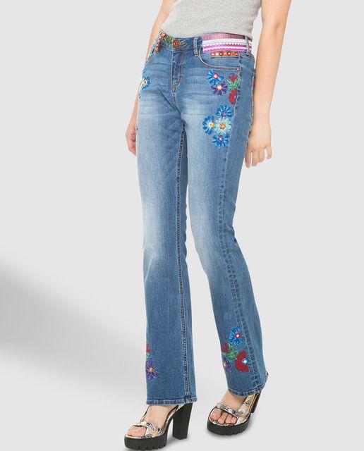 Desigual MODA VAQUERA - Pantalones vaqueros Zyor1awQD