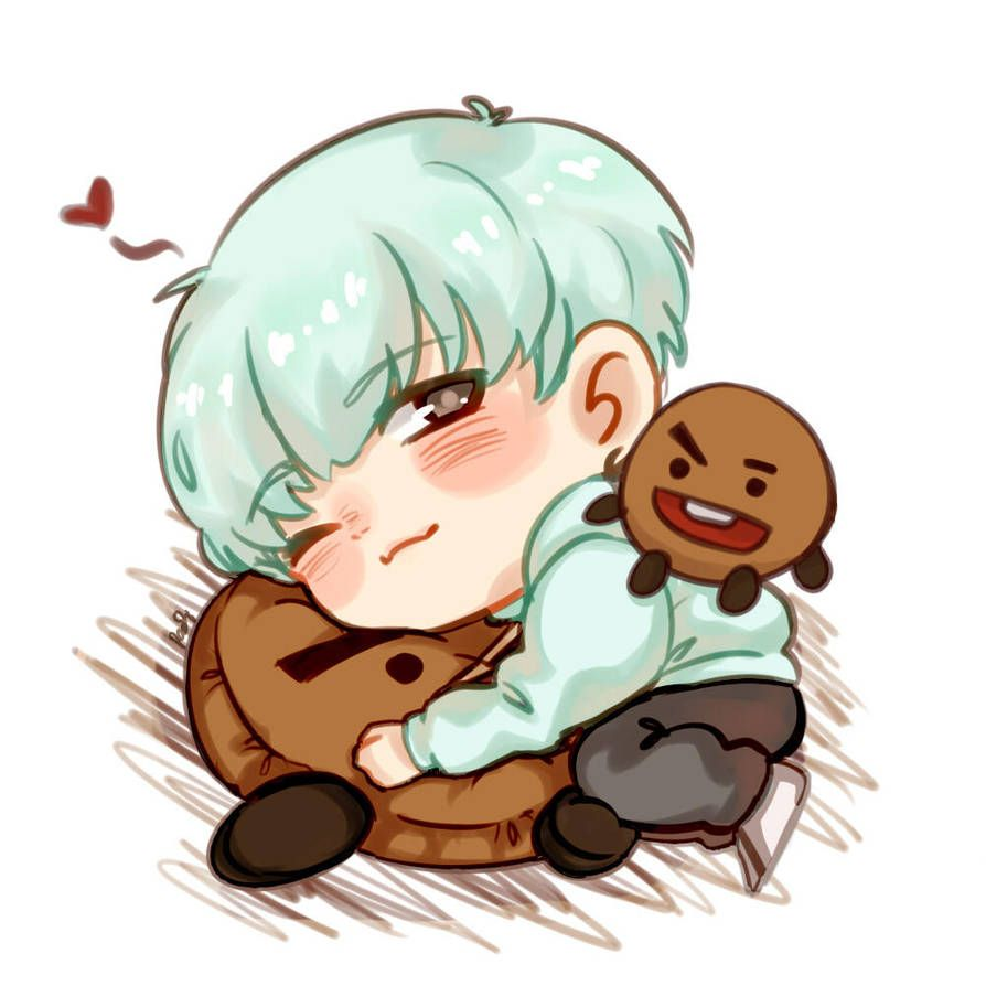 Photo of FA : Chibi Min Yoongi by padisaja on DeviantArt