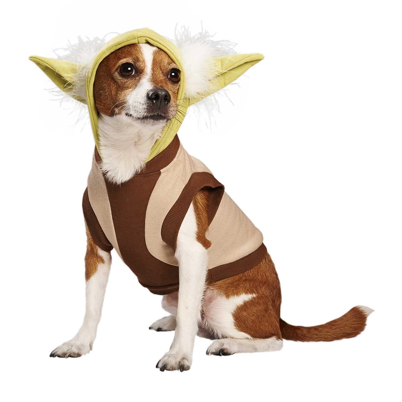 Star Wars Yoda Dog Hoodie Dog Halloween Costumes Funny