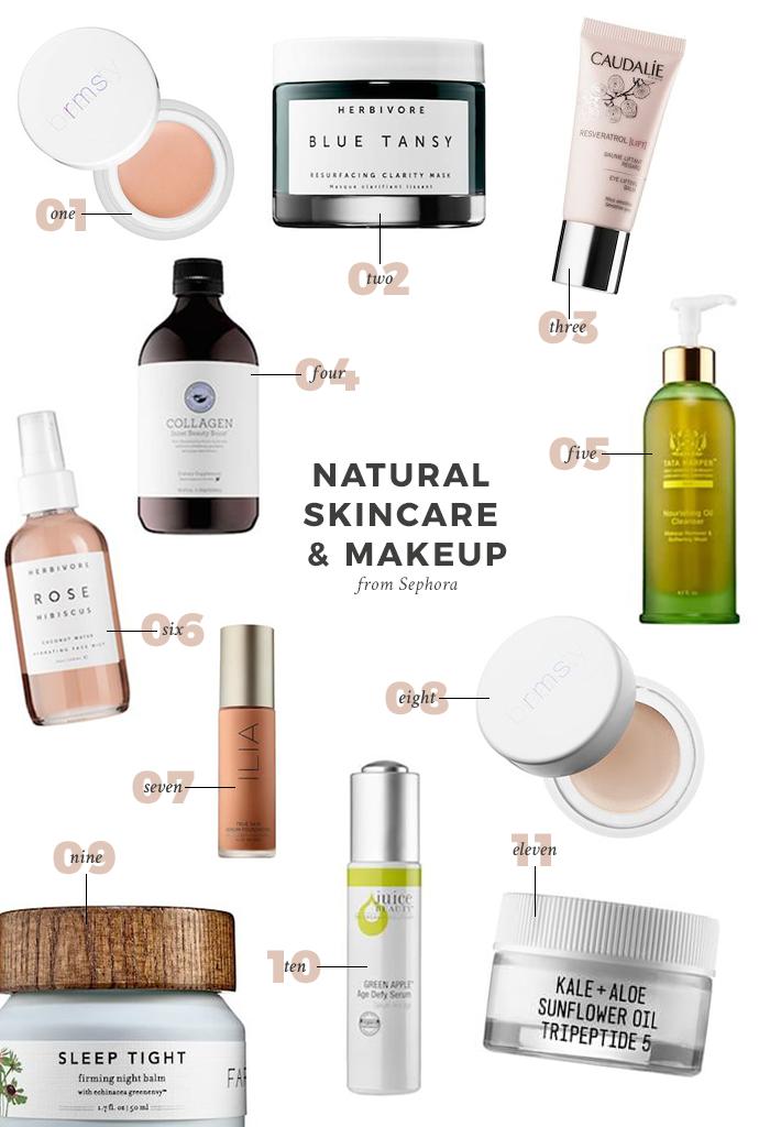 Natural Skincare Picks From Sephora Natural Skin Care Skin Care Nontoxic Beauty
