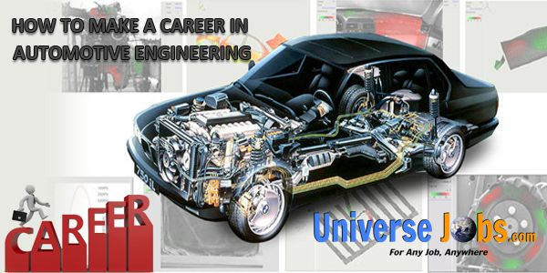 How To Make A Career In Automotive Engineering With Images