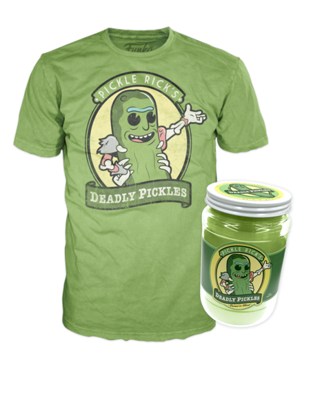 40e9294c Pickle Rick Funko Pop T-Shirt Coming To NYCC | Precious T-Shirts ...