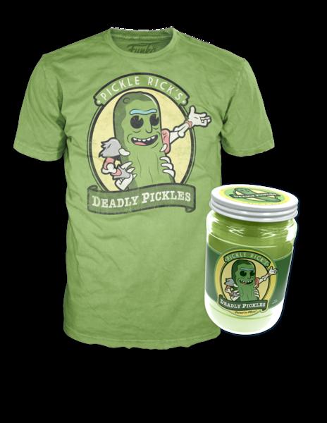 58fc18b8ea Pickle Rick Funko Pop T-Shirt Coming To NYCC | Precious T-Shirts ...