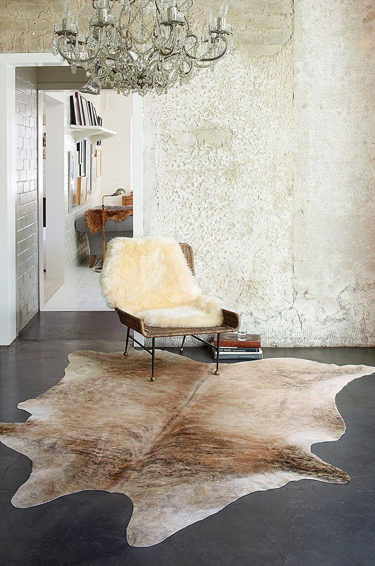 Overland Medium Exotic Cowhide Rug #chair #rustic #rug #chandelier ...