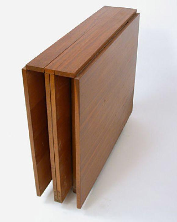 Maria Drop Leaf Teak Dining Table By Bruno Mathsson Teak Dining Table Foldable Dining Table Drop Leaf Dining Table