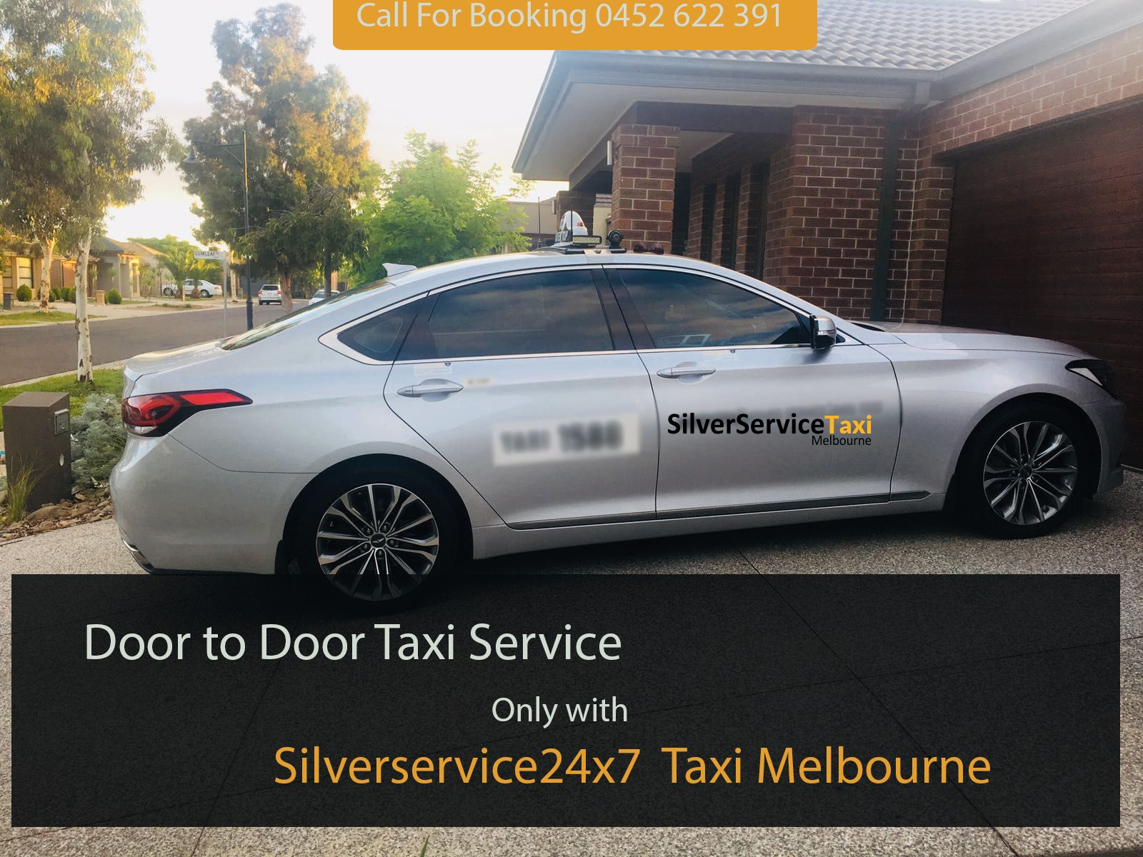 Book #Door to #door #taxi #Service in #Melbourne only with Silverservice24x7 #Taxi #Melbourne by direct call at 0452 622 391 or Book@silverservice24x7.com for any detail visit at www.silverservice24x7.com