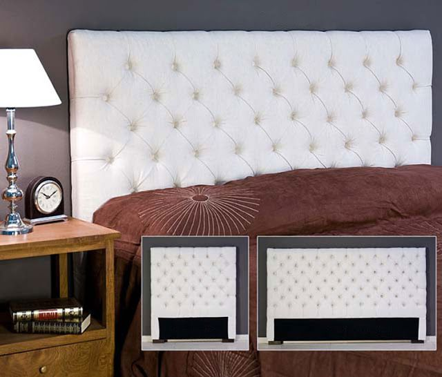 Como hacer cabecero capitone acolchado via - Hacer cabecero cama ...