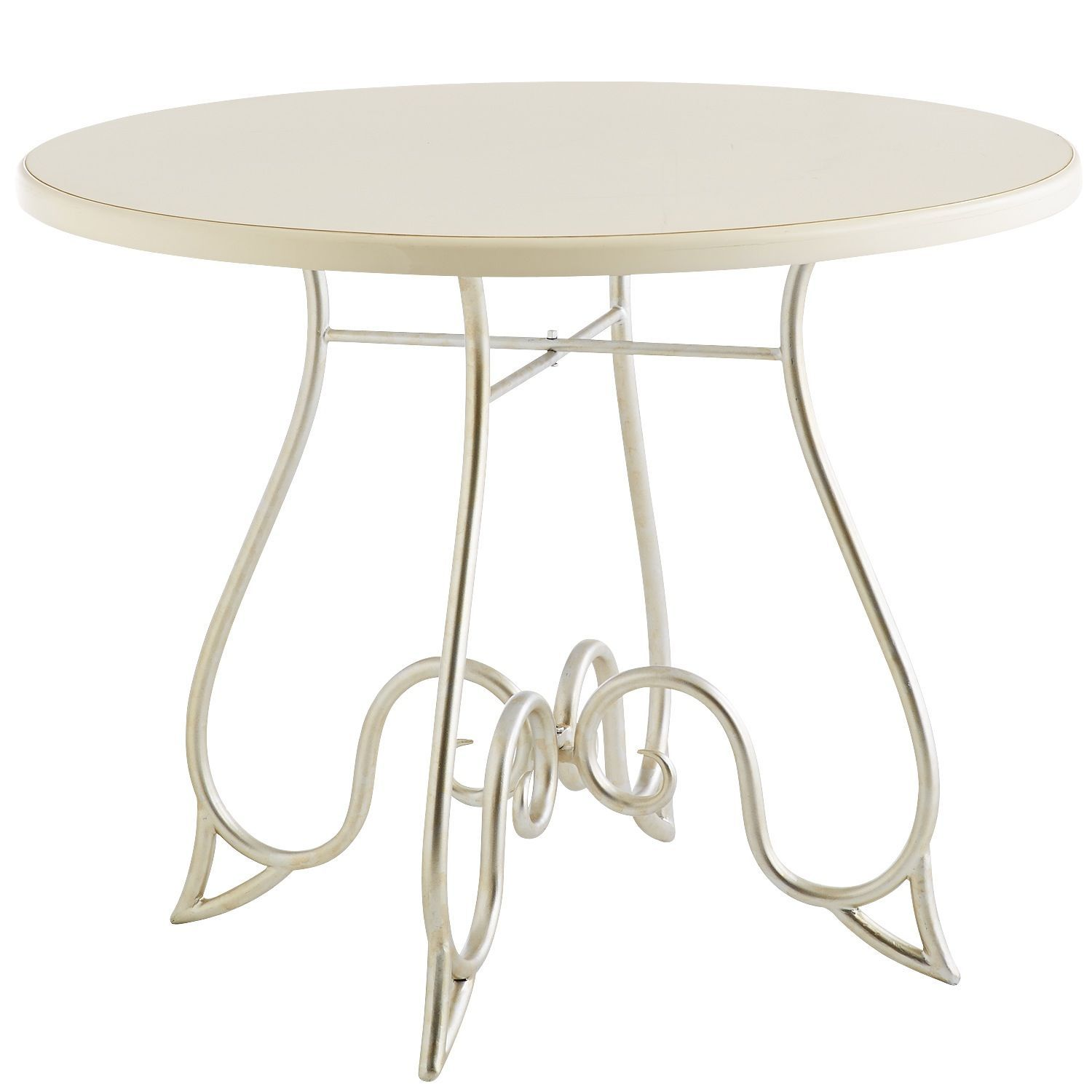blanco bistro table antique white pier 1 imports dining