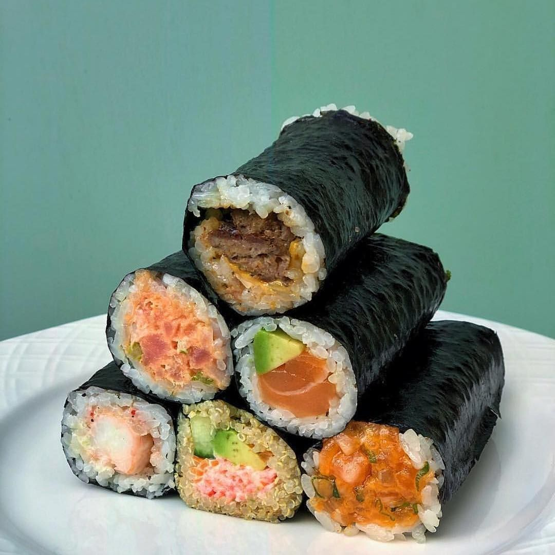 Sushi Mode 24 7 On Instagram Via Omgihtslinda Tag Your Best Sushi Mad Friends That You D Just Love To Enjoy This Wit Best Sushi Sushi Rolls Sushi
