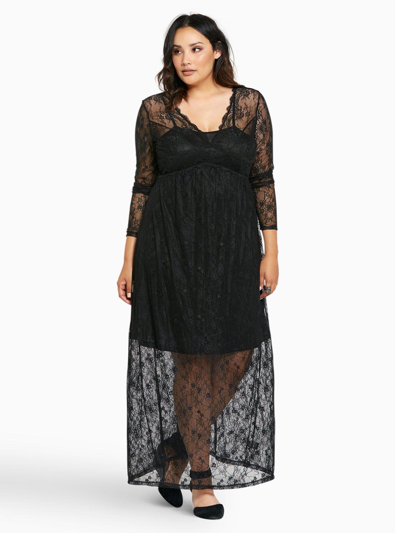 9bdf679e99a Lace Maxi Dress