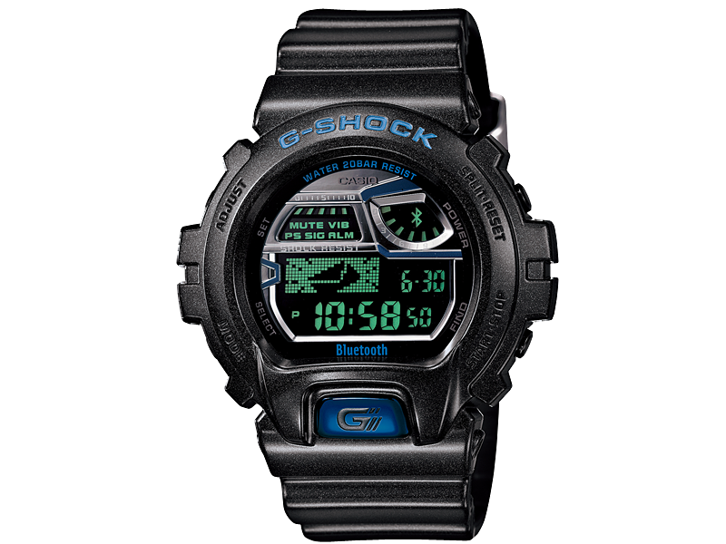 CASIO G-SHOCK GB-6900AA-A1JR  Bluetooth LE 30th Anniversary Vol.2  Initial Blue Series Limited Edition