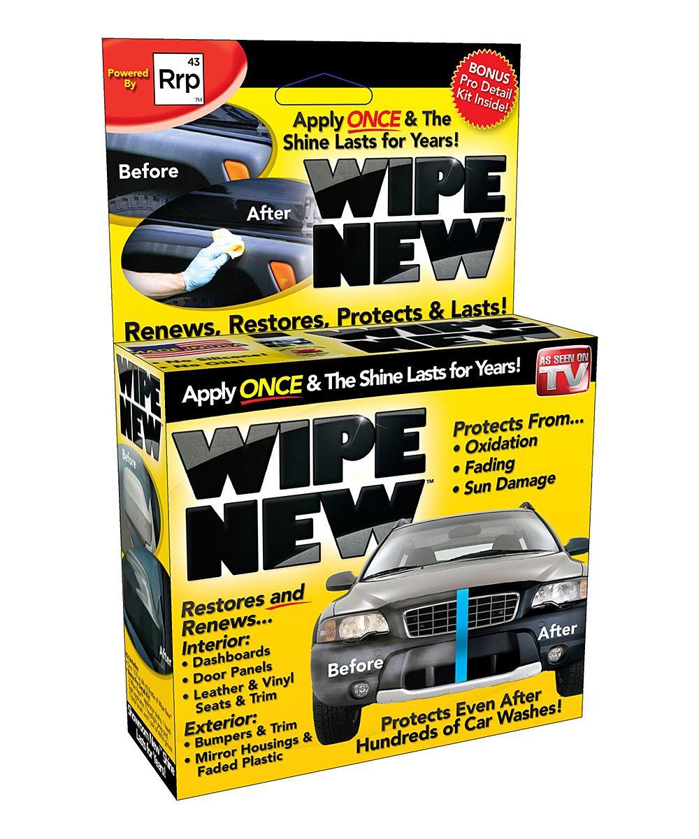 Wipe New Headlight Restorer Products Plastic Restorer