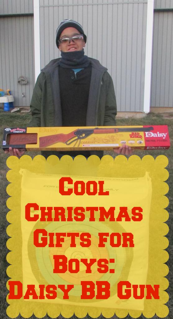 Cool Christmas Gifts for Boys: Daisy BB Guns #ItsADaisy #shop