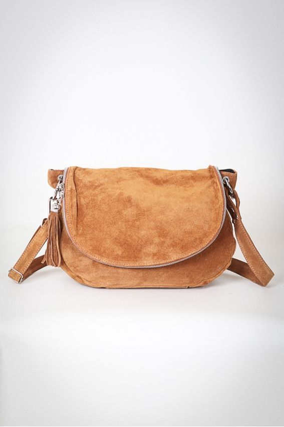 Sac bandouli re besace en cro te de cuir camel accessories pinterest croute de cuir - Tuto sac besace bandouliere ...