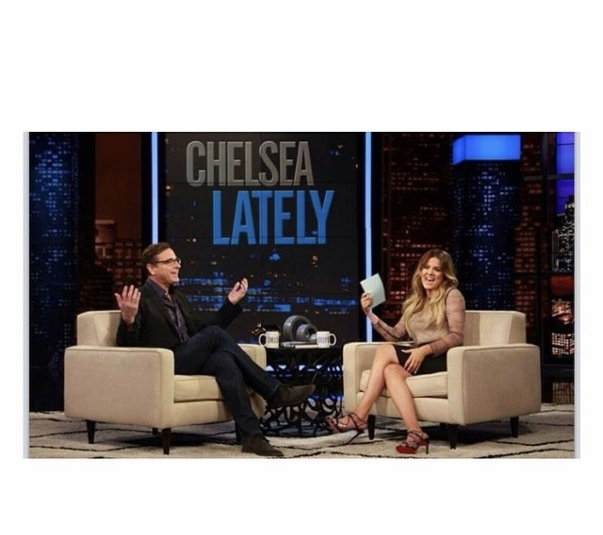 @khloekardashian: Turn on E to watch me take over @Chelsealately tonight at 11/10c @BobSaget is hysterical! #E #ENetwork #DirtyDaddy