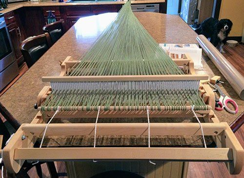 Jul 30 Using a Schacht Flip Loom: Rigid Heddle Weaving for