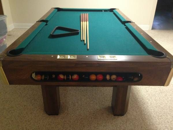 A Brunswick Billiards Buckingham Pool Table Sold Used Pool - Brunswick richmond pool table
