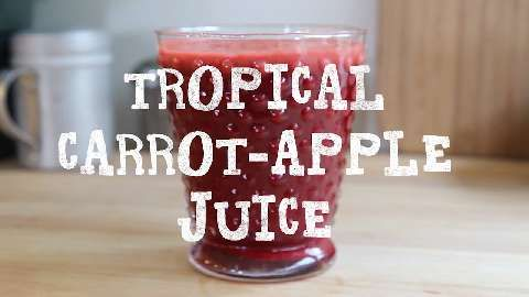 Tropical Carrot Apple Juice Allrecipes Com Drinks Non