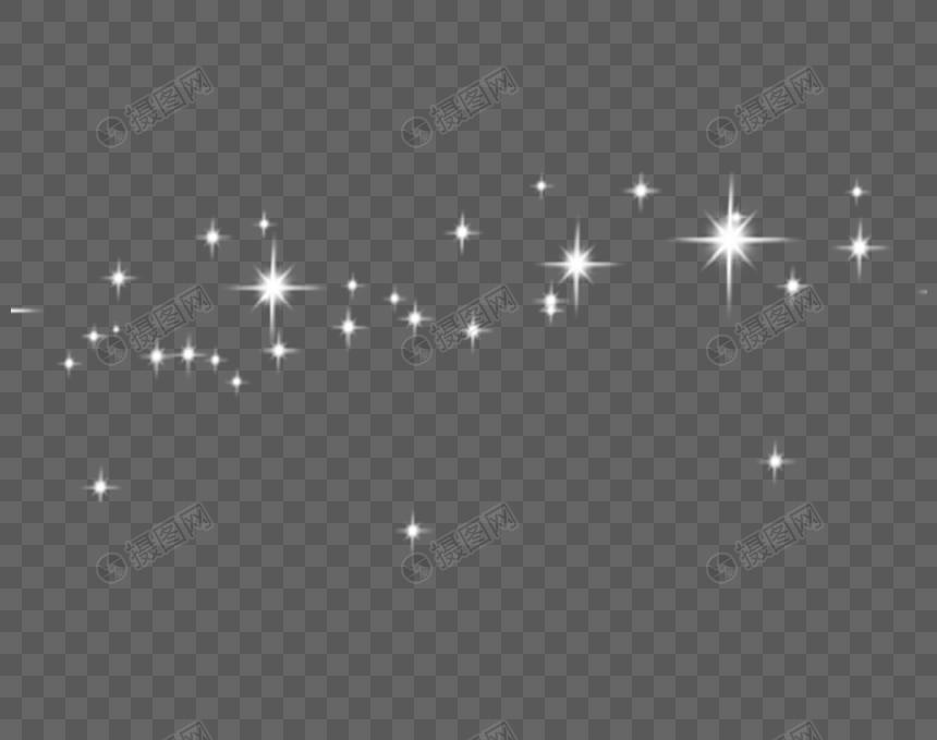 Elemen Glitter Putih Kalender Pemasaran Media Sosial Glitter