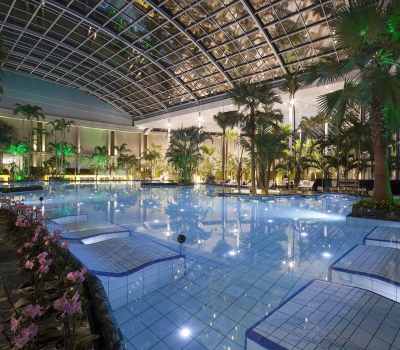 Therme Bucharest, Romania The Largest Thermal Wellness