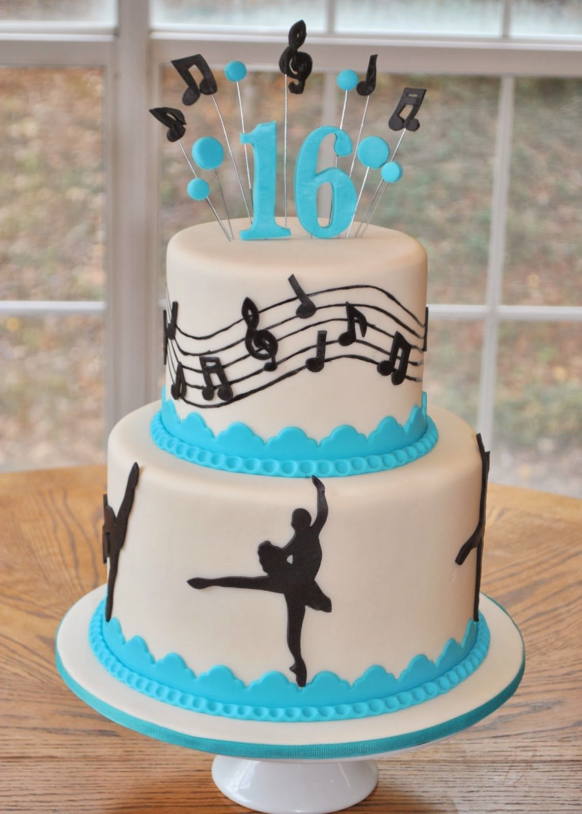 Ballroom Dancer Cake Decorations