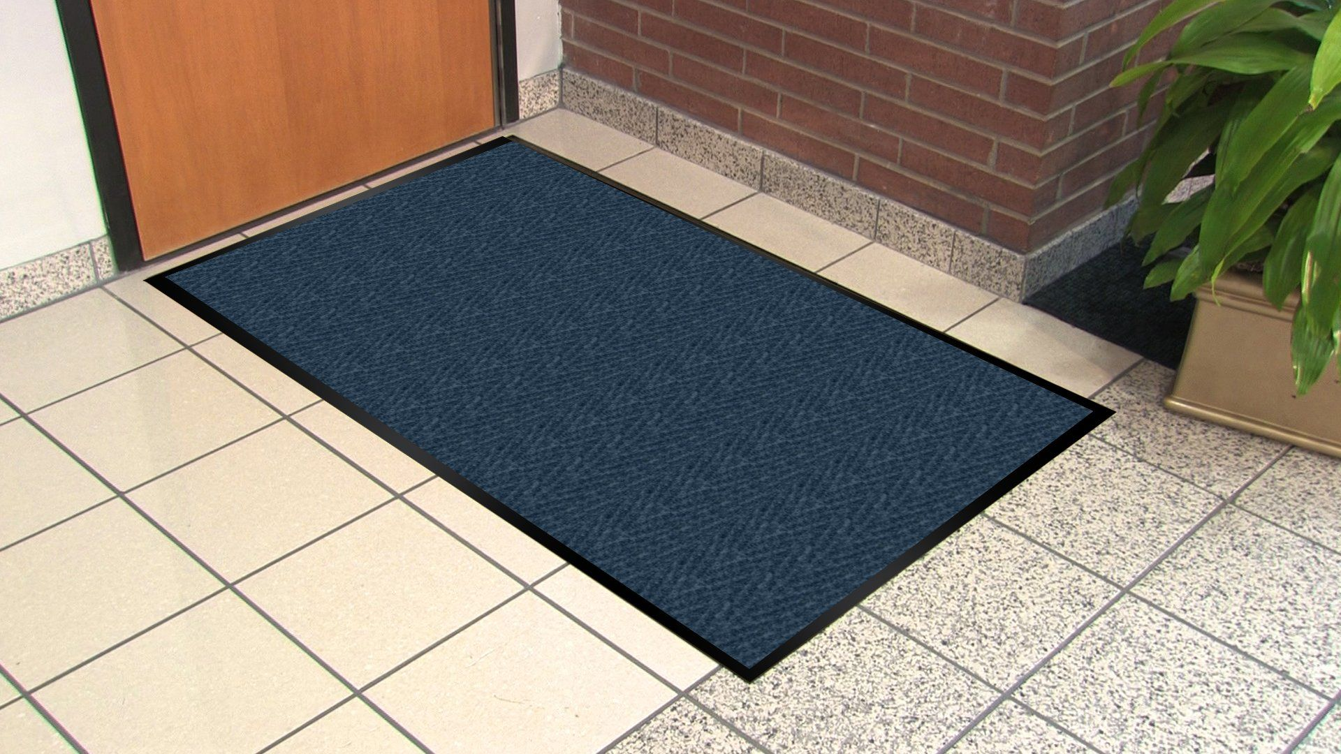 Guardian Golden Series Chevron Indoor Wiper Floor Mat Vinyl Polypropylene 3x6 Blue You Can Find Out More Details At The Link O Floorcare Flooring Floor Care
