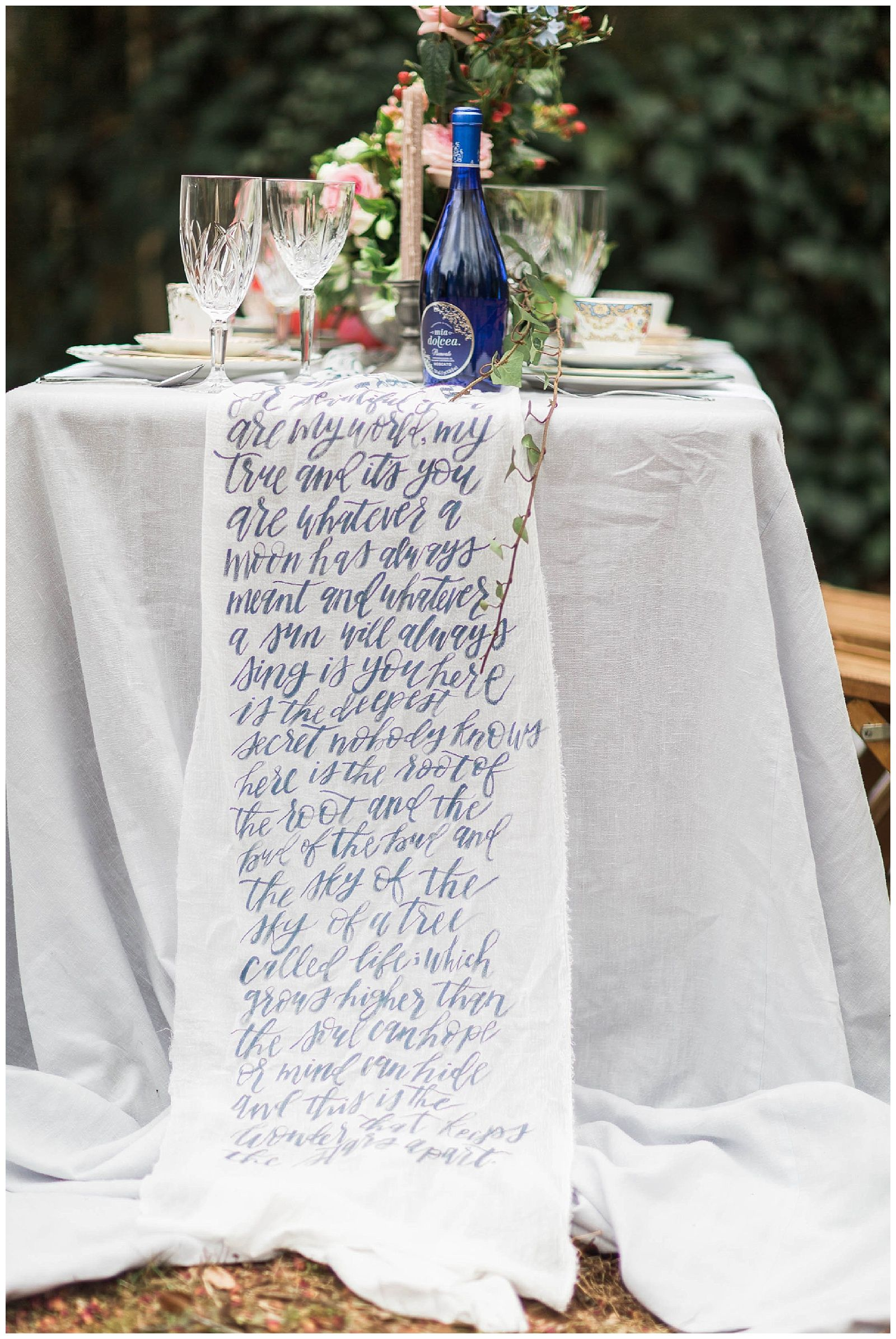 Backyard Valentine\'s Elopement Wedding Inspiration | Romantic ...