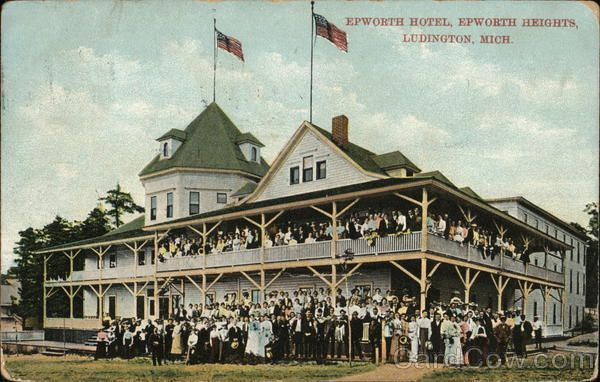 Epworth Hotel Heights Ludington Michigan
