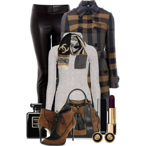 Leather leggins + this color palette = PERF Fall outfit!