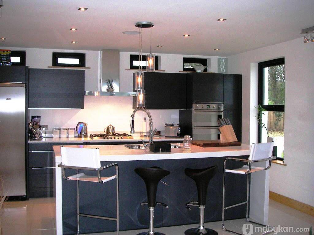 صور مطابخ حديثه و اشكال مطابخ مودرن و مميزه من موبيكان American Kitchen Design Country Kitchen Contemporary Kitchen Design