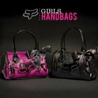 Fox Racing Purses I Want One With