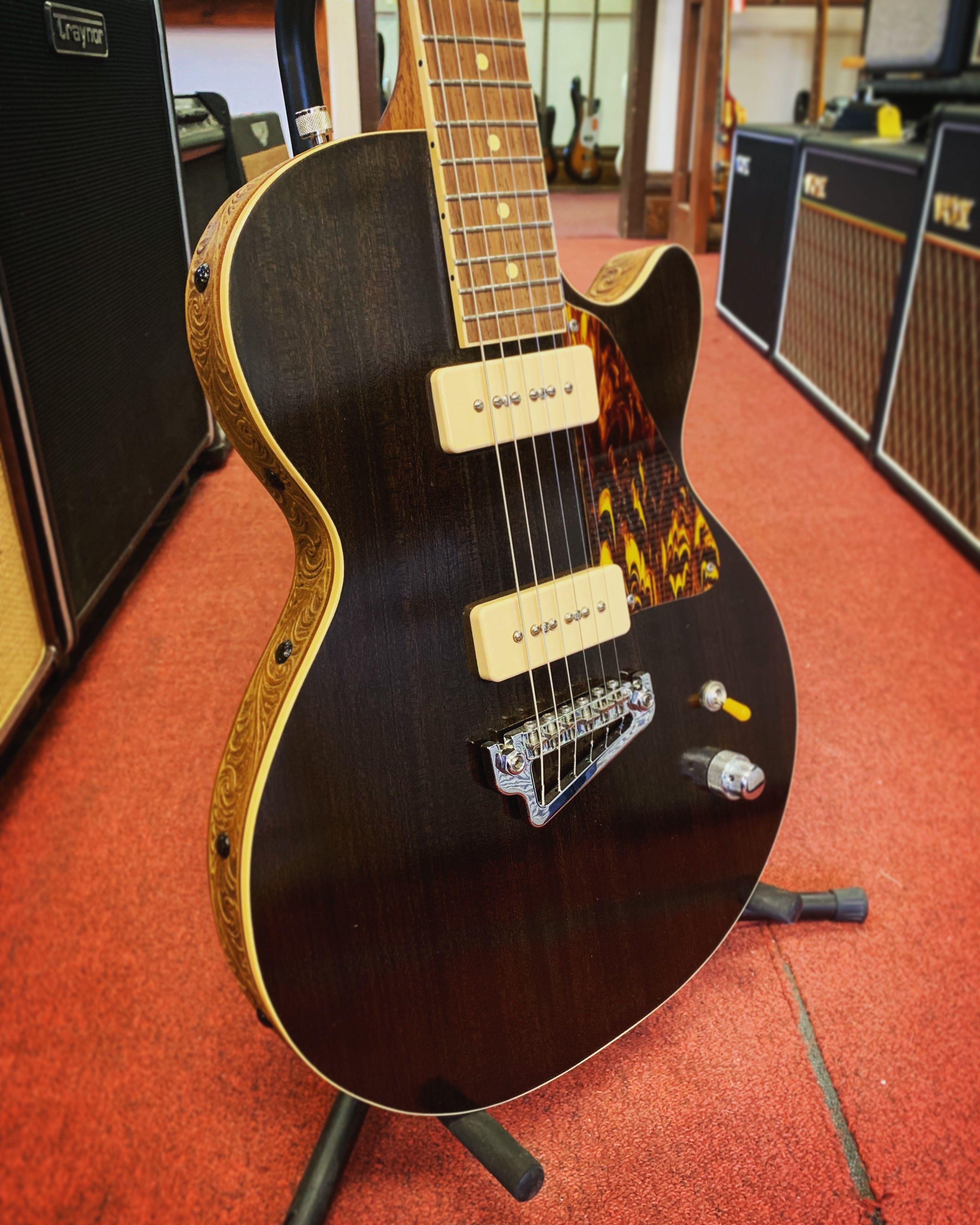 Opatik Blacktop Roundabout Recent Custom Electric Guitars Guitar Building Guitar