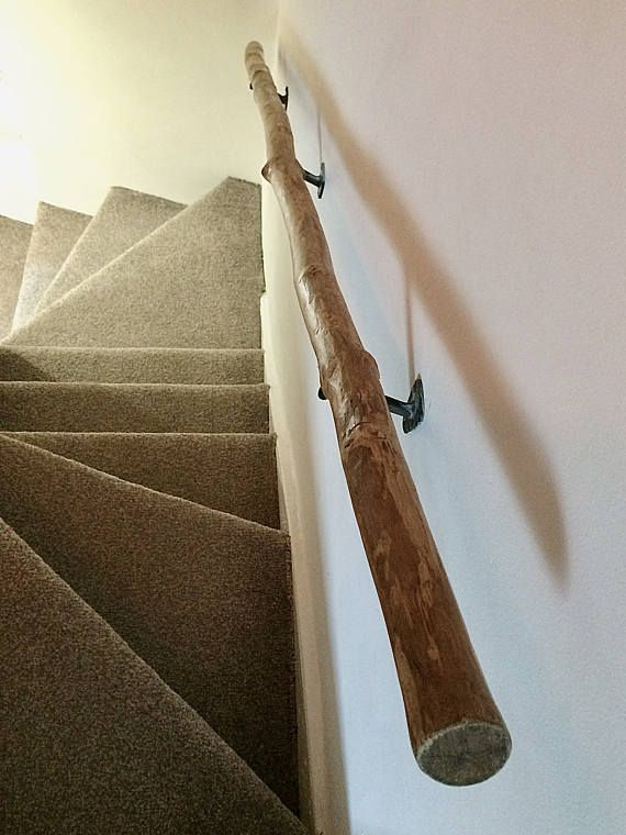 Best Handmade Real Wood Tree Branch Stairs Hand Rail With 400 x 300
