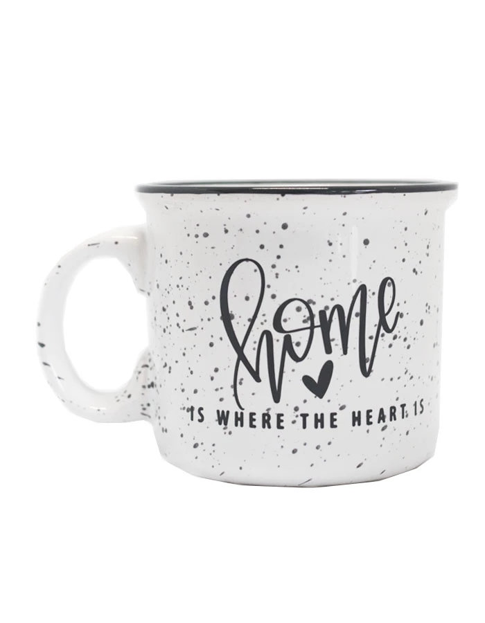 Home Is Where The Heart Is Camper Mug Mugs Chalkfulloflove