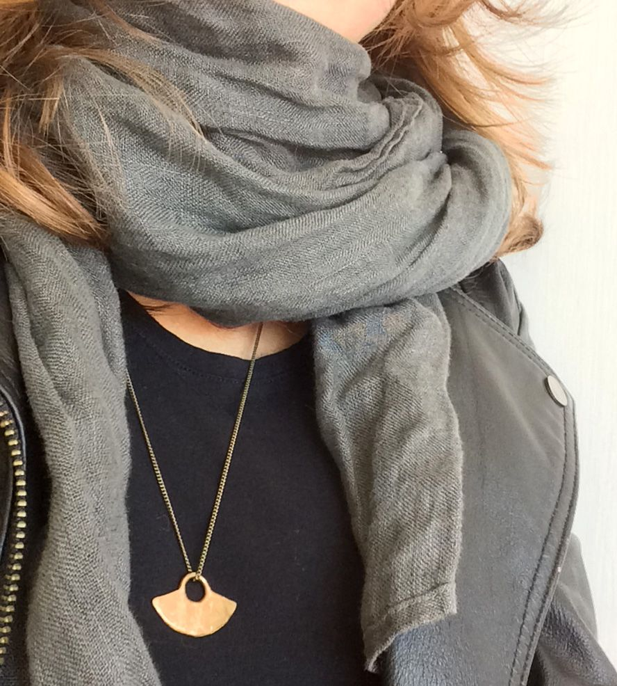 Blade Bronze Necklace by Gunnard Jewelry on Scoutmob Shoppe