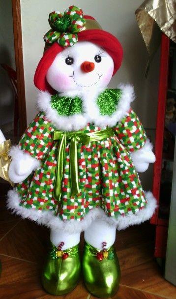 Niña nieve Navidad cosas navideñas Pinterest Navidad, Muñecos - cosas de navidad