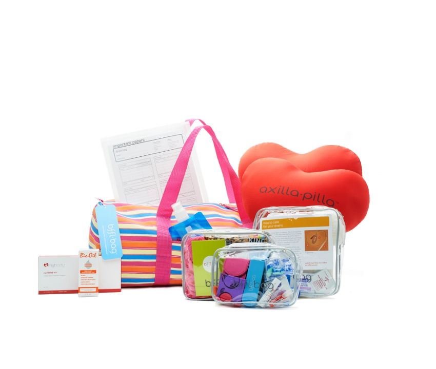 Double mastectomy bfflbag gifts for cancer patients