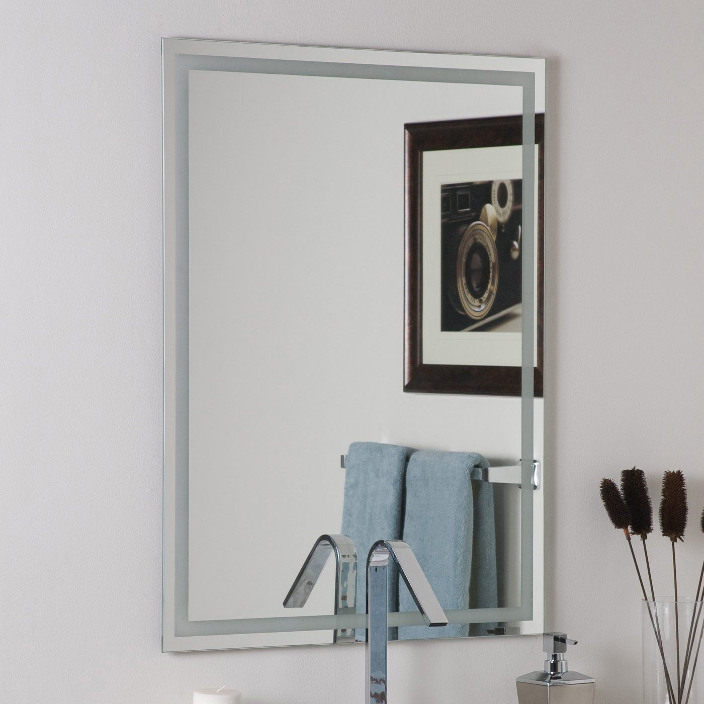 24 Fantastic Frameless Bathroom Mirrors Mirror Wall Mirror